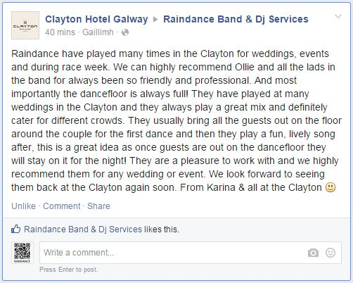 Clayton Hotel Review of Raindance