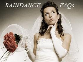 Raindance Wedding Band FAQs