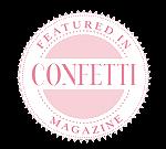Confetti Logo Raindance